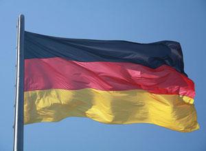 Flagge der Bundesrepublik Deutschland. Foto: Silver Spoon. Lizenz: CC BY-SA 1.2. Wikimedia Commons.