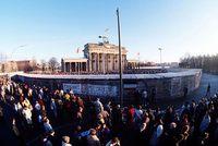 Brandenburger Tor Dezember 1990