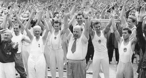 1959: Deutsches Turn- und Sportfest in Leipzig.