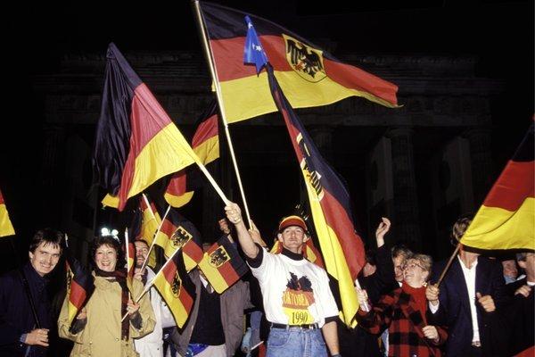 Tag der Deutschen Einheit. Foto: picture alliance / Ulrich Baumgarten.